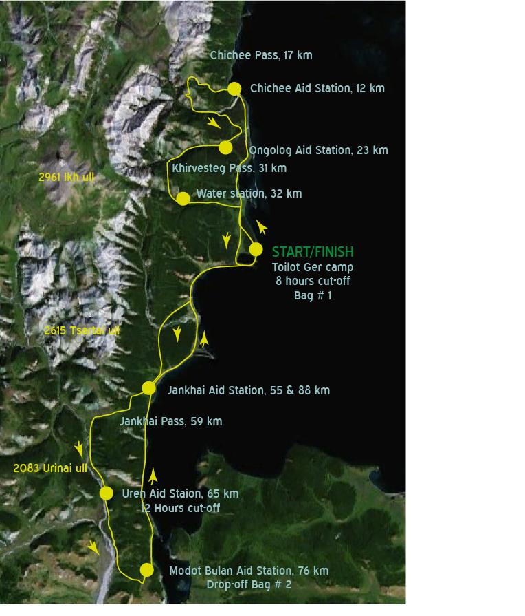 Course Map ny